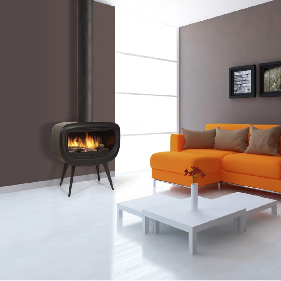 poele a bois godin la rochelle obtenez des. Black Bedroom Furniture Sets. Home Design Ideas